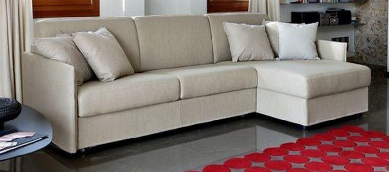 диван кровать угловой Le Comfort Aloe 258x97 150x85 текстиль